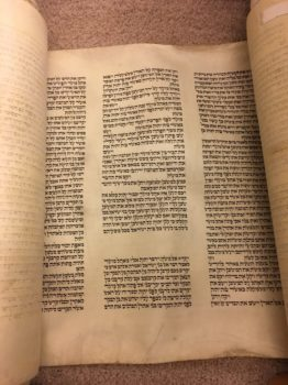 Torah - the end of Sh\'mot and the beginning of Vayikra
